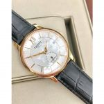 Tissot Tradition Automatic Small Rose Gold Black Leather Men's Watch T063.428.36.038.00