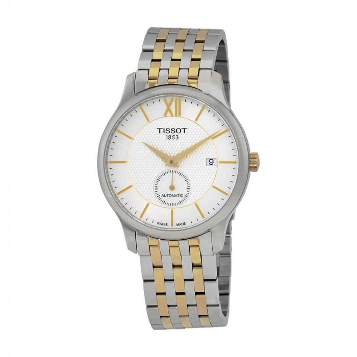 Tissot Tradition Automatic Small Second Two Tone Men's Watch T063.428.22.038.00