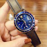 Versace Hellenyium Blue Dial Date Men's Watch V11080017