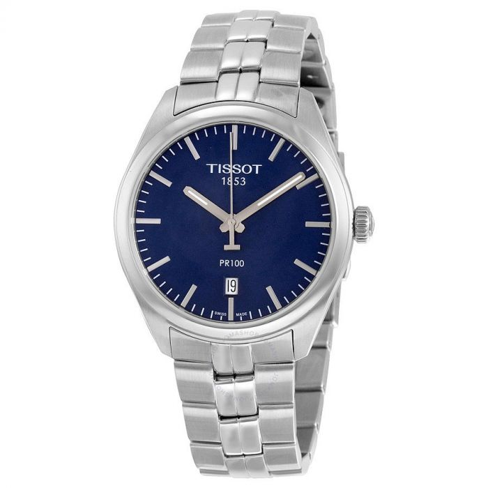 Tissot PR100 Date Blue Dial Men's Watch T101.410.11.041.00