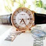 Claude Bernard Classic Automatic Silver Dial Chronograph Men's Watch 08001 37R AIR