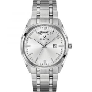 Bulova Classic Stainless Steel Silver Dial Men's Watch 96C127