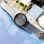 Skagen Ancher Quartz Mesh Casual Black Dial Women's Watch 358SSSBD