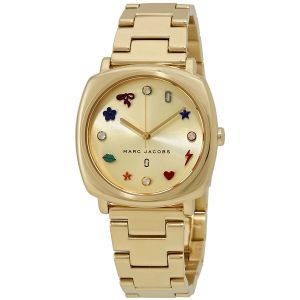 Marc Jacobs Mandy Gold Fashion Women's Watch MJ3549