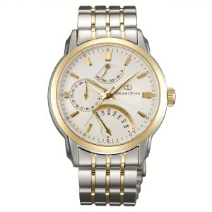Orient Star Retrograde Automatic White Dial Demi Men's Watch SDE00001W0