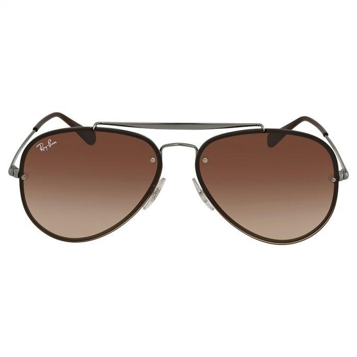Ray-ban Blaze Brown Gradient Sunglasses RB3584N 004/13 58