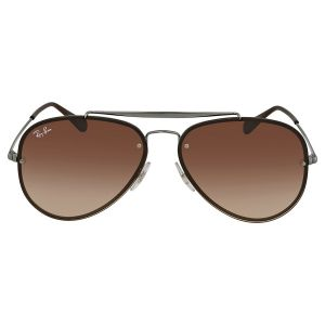 Ray-ban Blaze Brown Gradient Sunglasses RB3584N 004/13 58