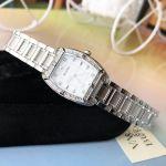 Bulova Highbridge Mother of Pearl Dial Diamond Bezel Women's Watch 96R162