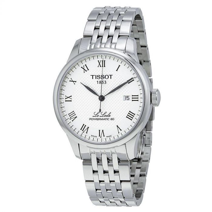 Tissot Le Locle Automatic Powermatic 80 White Dial Men's Watch T006.407.11.033.00