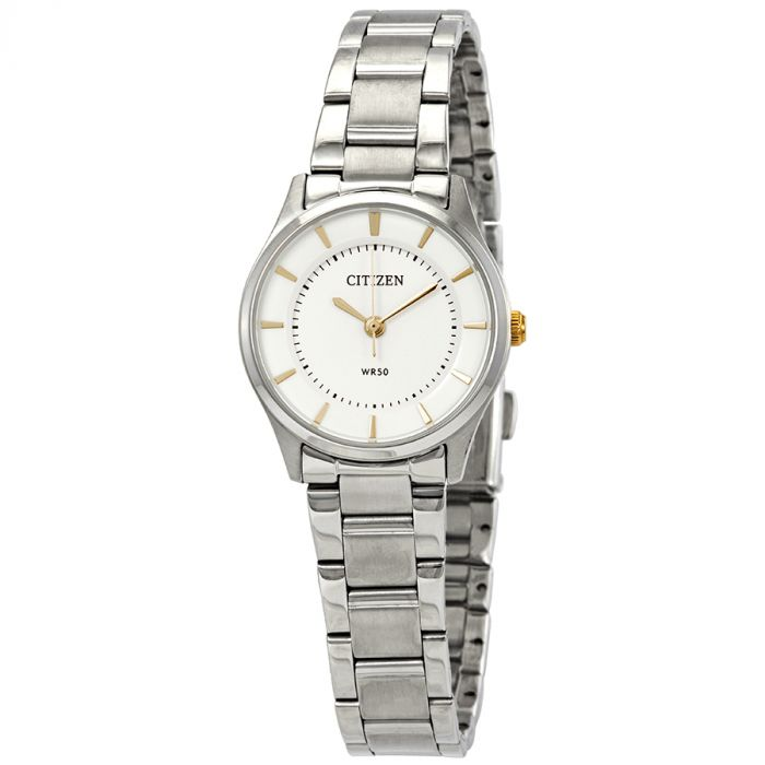 Citizen Quartz Silver Stainless Steel Women's Watch ER0201-56B