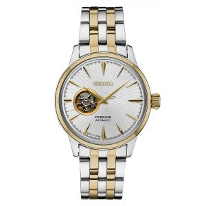 Seiko Presage Open Heart Cocktail Time Automatic Men's Watch SSA358