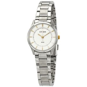 Citizen Quartz Silver Stainless Steel Women's Watch ER0201-56B