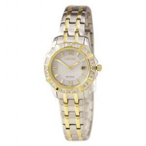 Citizen Silhouette Diamond Two Tone Women's Watch EW2364-50A