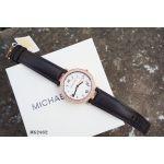 Michael Kors Mini Parker Black Leather Women's Watch MK2462