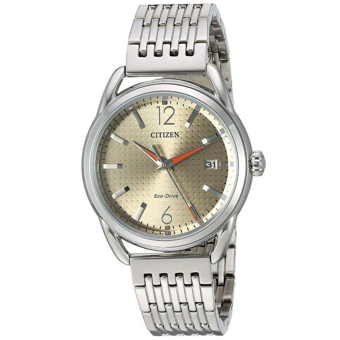 Citizen Drive Stainless Steel Date Women's Watch FE6080-54X