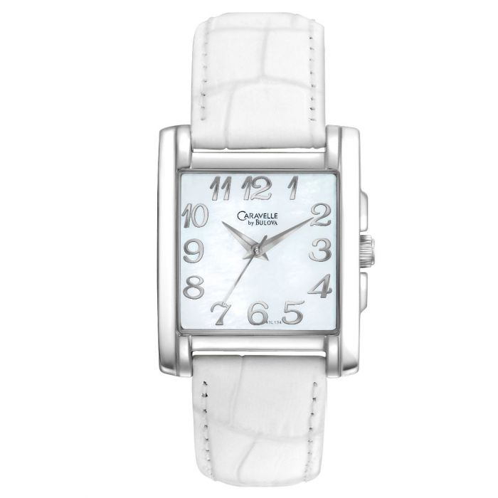 Caravelle by Bulova Leather Strap Women's Watch 43L134