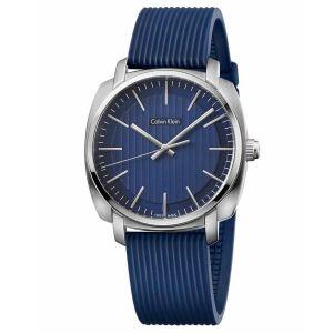 Calvin Klein Highline Dial Blue Rubber Men's Watch K5M311ZN