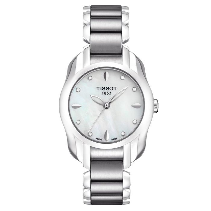 Tissot Trend Collection Mother of Pearl Diamonds Quartz Women's Watch T023.210.11.116.00