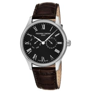 Frederique Constant Classics Black Dial Day Date Swiss Quartz Men's Watch FC-259BR5B6-DBR