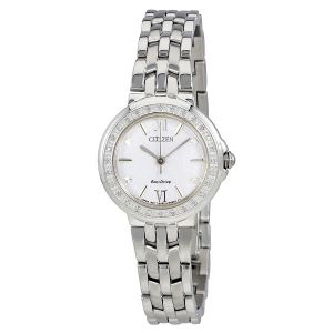 Citizen Sihouette Diamond Silver  Women's Watch EM0440-57A