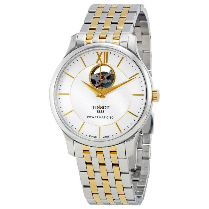 Tissot Tradition Powermatic 80 Automatic Open Heart Men's Watch T063.907.22.038.00