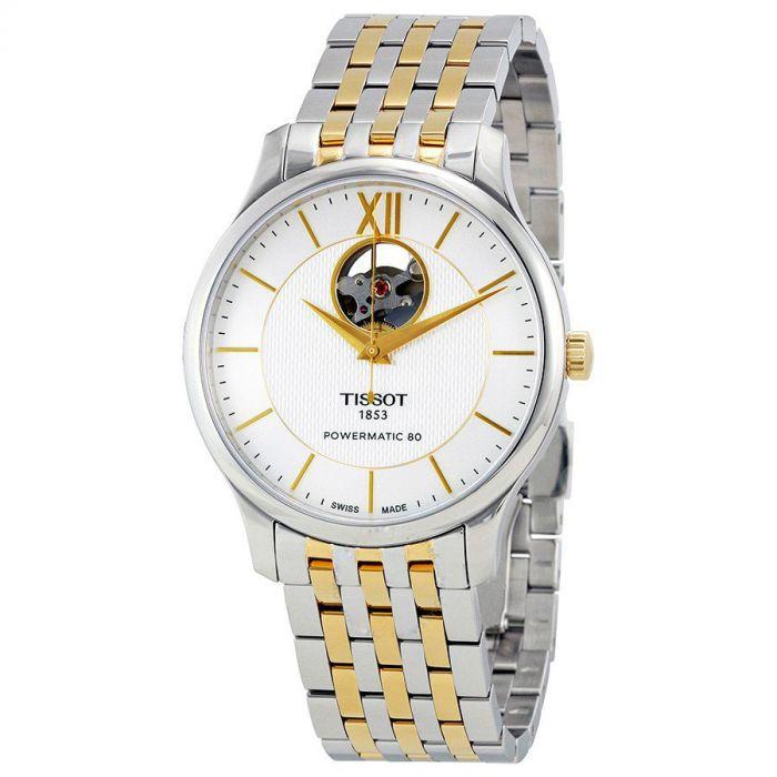 Tissot Tradition Powermatic 80 Automatic Open Heart Men's Watch T063.907.22.038.00