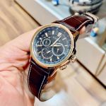 Citizen Calendrier Brown Leather Men's Watch BU2023-04E