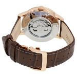 Orient Classic Sun and Moon Open Heart Automatic Brown Leather Men's Watch RA-AS0003S10B