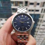 Seiko Neo Classic Blue Dial Date Men's Watch SUR259P1