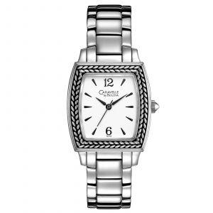 Caravelle By Bulova Tonneau Bracelet Women's Watch 43L150