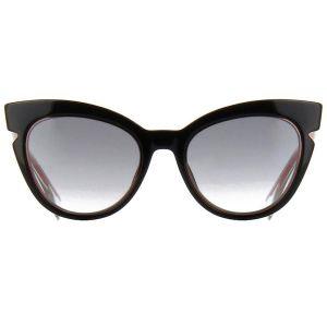 Fendi Cat Eye Gradient Mắt Đen Gọng Nhựa Màu Hồng FF 0132/S N7A51JJ