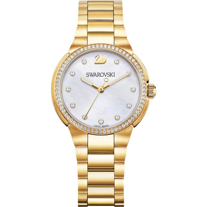 Swarovski City Mini Mother of Pearl Women's Watch 5221172