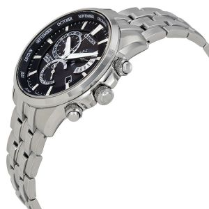 Citizen Perpetual Calendar Alarm Eco-Drive Men's Watch BL8140-55E
