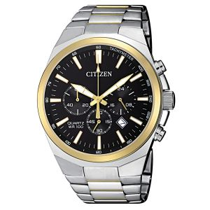 Citizen Chronograph Tachymeter Two Tone Men's Watch AN8174-58E