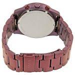 Fossil Perfect Boyfriend Sport Multifunction Wine Stainless Steel Women's Watch ES4110