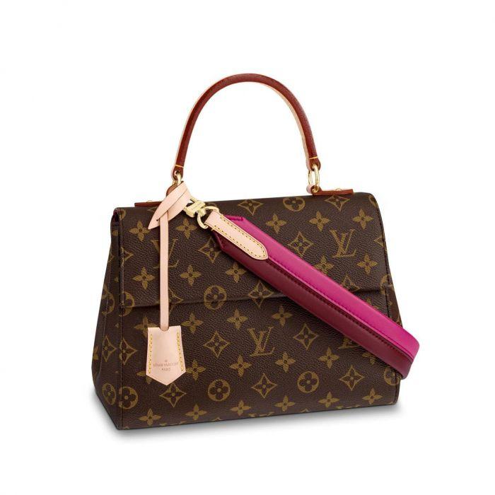 Louis Vuitton Clunny BB Màu Nâu M42738