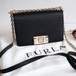 Furla Mimi Crossbody Mini Màu Đen Nero 1064420