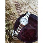 Bulova Classics Mặt Tròn Dây Kim Loại Màu Bạc 96L215