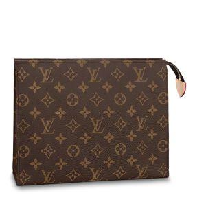 Louis Vuitton Toiletry Pouch 26 Monogram Màu Nâu M47542