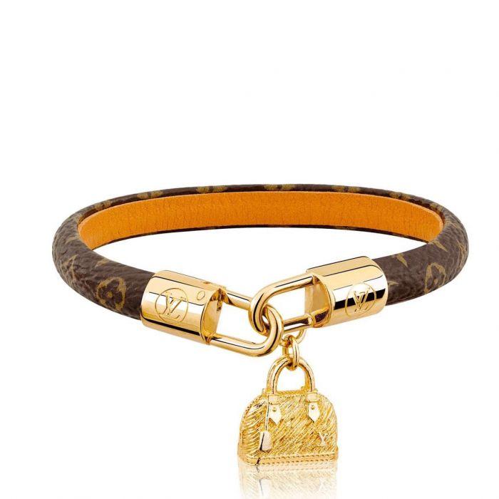 Louis Vuitton Alma Charm Túi Màu Vàng M6220F