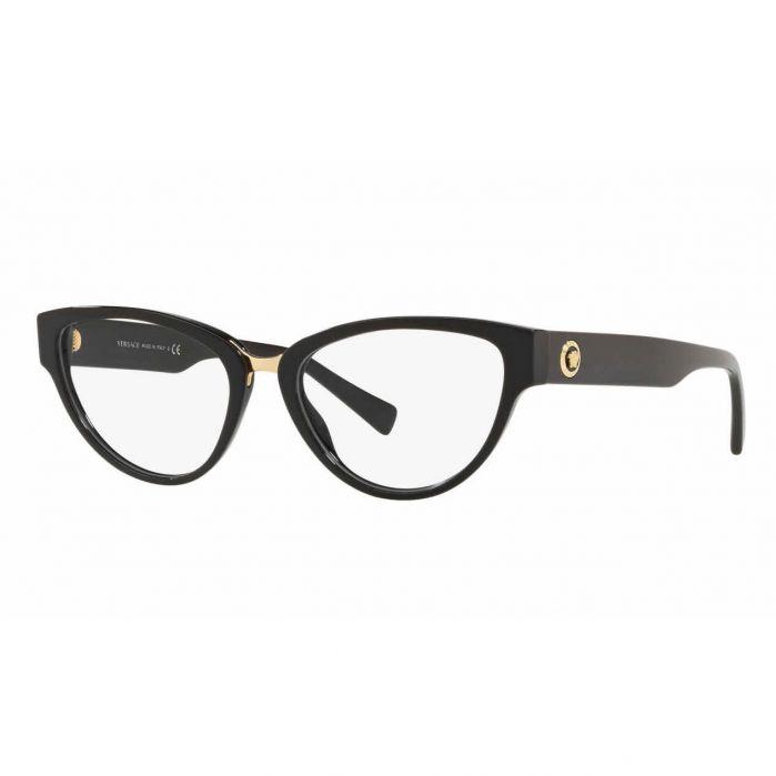 Versace Cat Eye Mắt Mèo Màu Đen VE3267
