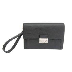 Louis Vuitton Clutch Thames Epi Màu Đen M42742