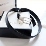 Gucci Reversible 2 Mặt Màu Nâu Và Đen 387041 BGHIN
