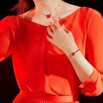 Swarovski Iconic Màu Vàng Thiên Nga Màu Đỏ 5465400