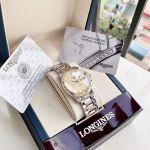 Longines Master Automatic Demi Vàng Mặt Tròn Dây Kim Loại Lịch Ngày Thứ L2.755.5.37.7