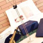 Swarovski Iconic Dây Dài Màu Vàng Hồng Thiên Nga Màu Đen 5351806