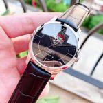 Tissot Tradition Automatic Open Heart Mặt Tròn Dây Da Màu Đen T063.907.16.058.00