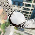 Tissot Automatics III Mặt Tròn Màu Đen Dây Kim Loại Màu Bạc Lịch Ngày Thứ T065.930.11.051.00