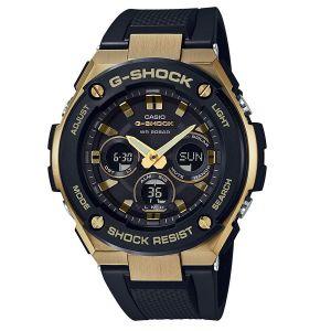 Casio G-Shock Mặt Tròn Dây Cao Su Màu Đen GST-S300G-1A9