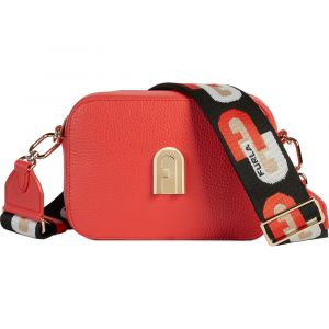 Furla Sleek Crossbody Màu Đỏ Fuoco H Size 20 1057282